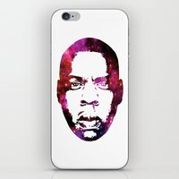 jay z iPhone & iPod Skins featuring JAY by Fimbis