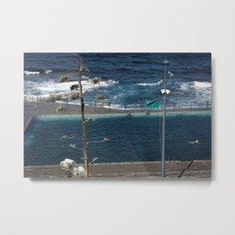 Swimming in Bajamar Metal Print