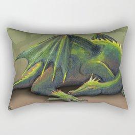 Sleeping dragon Rectangular Pillow