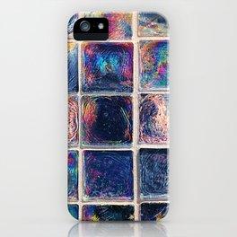 Iridescent Squares iPhone Case