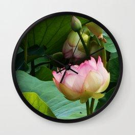 The Lotus Wall Clock