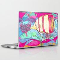 angel Laptop & iPad Skins featuring Angel by Juliana Kroscen