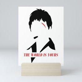 The World Is Yours Mini Art Print
