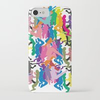 it crowd iPhone & iPod Cases featuring Crowd by Emmanuelle Ly