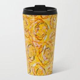 Art-ichoke flowers in basket Travel Mug