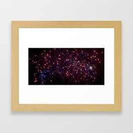 Glitter in the Sky Framed Art Print