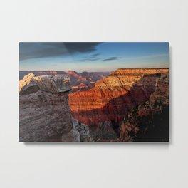 Grand Canyon Sunset, Arizona  5/20/14 Metal Print
