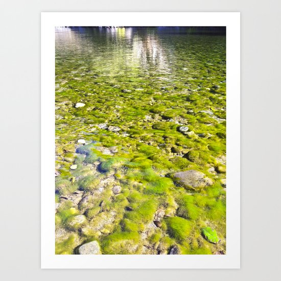 River Oh River Art Print