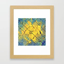 sunabstract. Framed Art Print