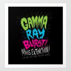Gamma Ray Burst Art Print