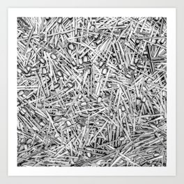 Cutlery Art Print