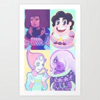 enerjax Art Prints featuring Sweater Gems by enerjax