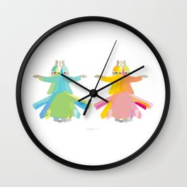 Mevlana - Whirling Dervish Wall Clock