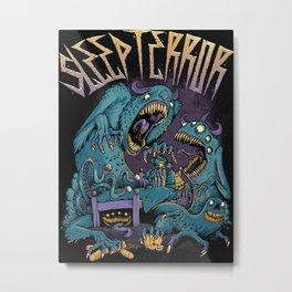 Monsters Under The Bed Metal Print