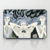 swim iPad Cases featuring Swim by Yuliya