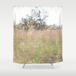 Wild Flower Grow Where You Want To Shower Curtain