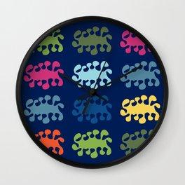 Amoeba Alliance Wall Clock
