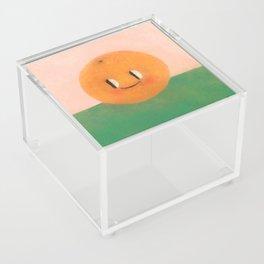 Happy happy Tangerine Acrylic Box