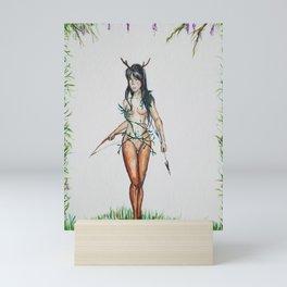Huntress Mini Art Print