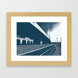 Bridge 15 Framed Art Print