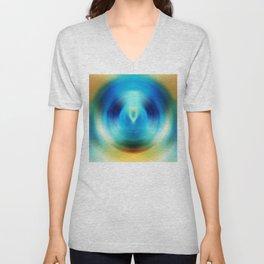 Open Spirit - Energy Art By Sharon Cummings Unisex V-Neck