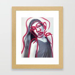 Harper Framed Art Print