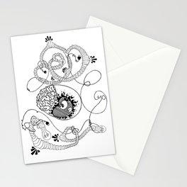 Egg Brain Stationery Cards