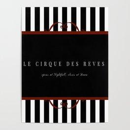 Night Circus Invitation Poster