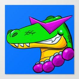 Cool Gator Canvas Print