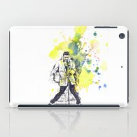 elvis presley iPad Cases featuring Elvis Presley Dancing by idillard