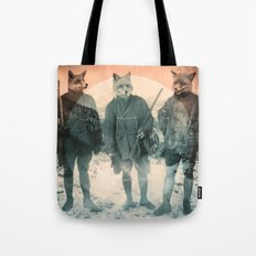 Fox Hunt Tote Bag