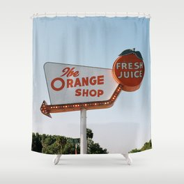 The Orange Shop Shower Curtain