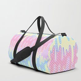 Melty Patterned Slime Duffle Bag