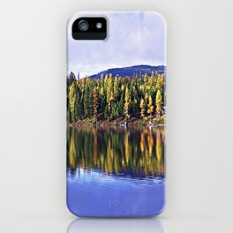 Inez Lake Montana Panorama iPhone Case