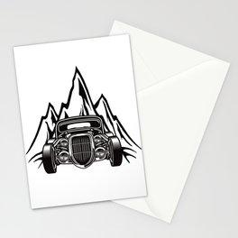 Hotrod with Bergen Custom Car Ami Car Car Stationery Cards