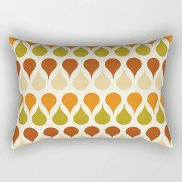 Pastel vintage 60s color drop pattern Rectangular Pillow