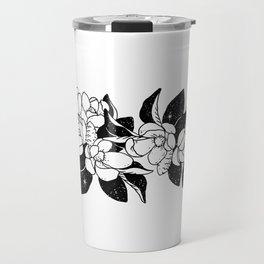 Magnolia Bouquet Travel Mug