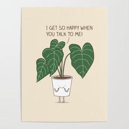Plant talk Poster