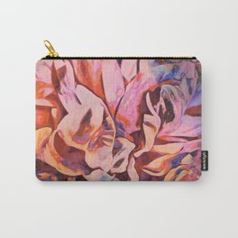 Painted Peony Twilight Carry-All Pouch