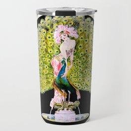 Art Deco Diva Rivalry Travel Mug