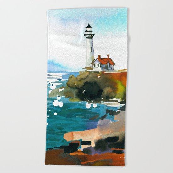 Seascape #3 Beach Towel