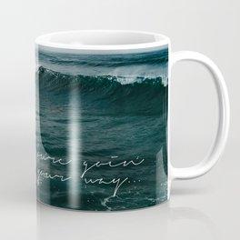 Surfing Ocean Beach San Diego Coffee Mug