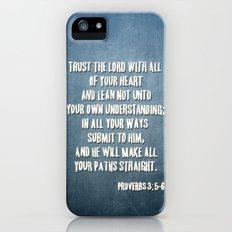 PROVERBS 3:5-6 iPhone (5, 5s) Slim Case