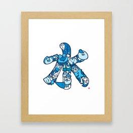 水 - WATER Framed Art Print