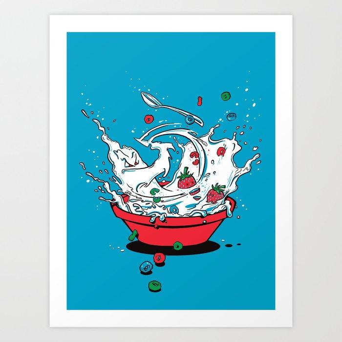 Cereal Killa Art Print