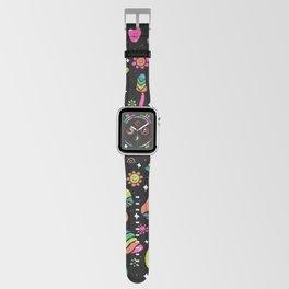 Rainbow Mushrooms Apple Watch Band