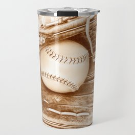 Softball Travel Mug