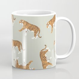 Tiger Trendy Flat Graphic Design Coffee Mug