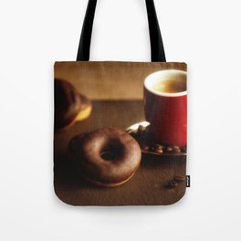 Fresh Donuts for coffee Tote Bag