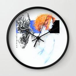 NUDEGRAFIA - 51 red hair Wall Clock